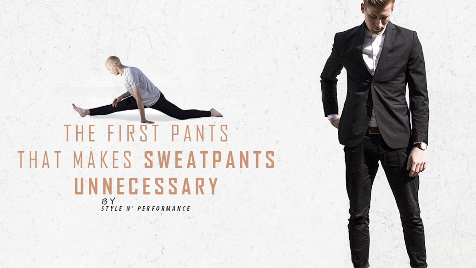Imagine feeling like wearing your best sweatpants everywhere you go and looking stylish at the same time.