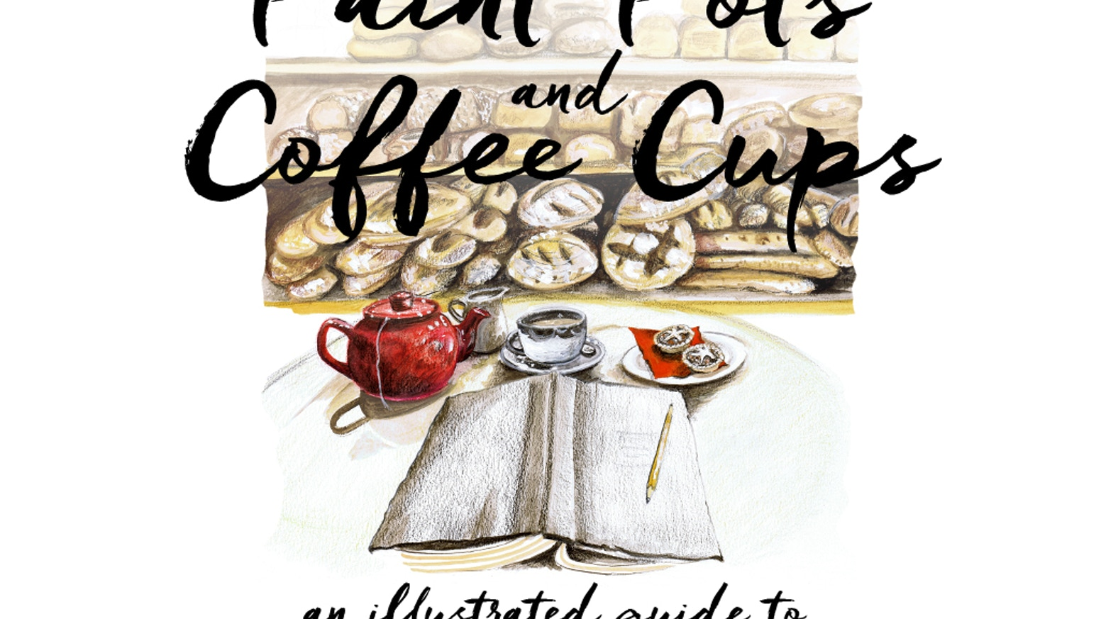 Let Oxford's artists give you a tour of Oxford's cafes with their illustrations, and discover more cafes to suit your every occasion.