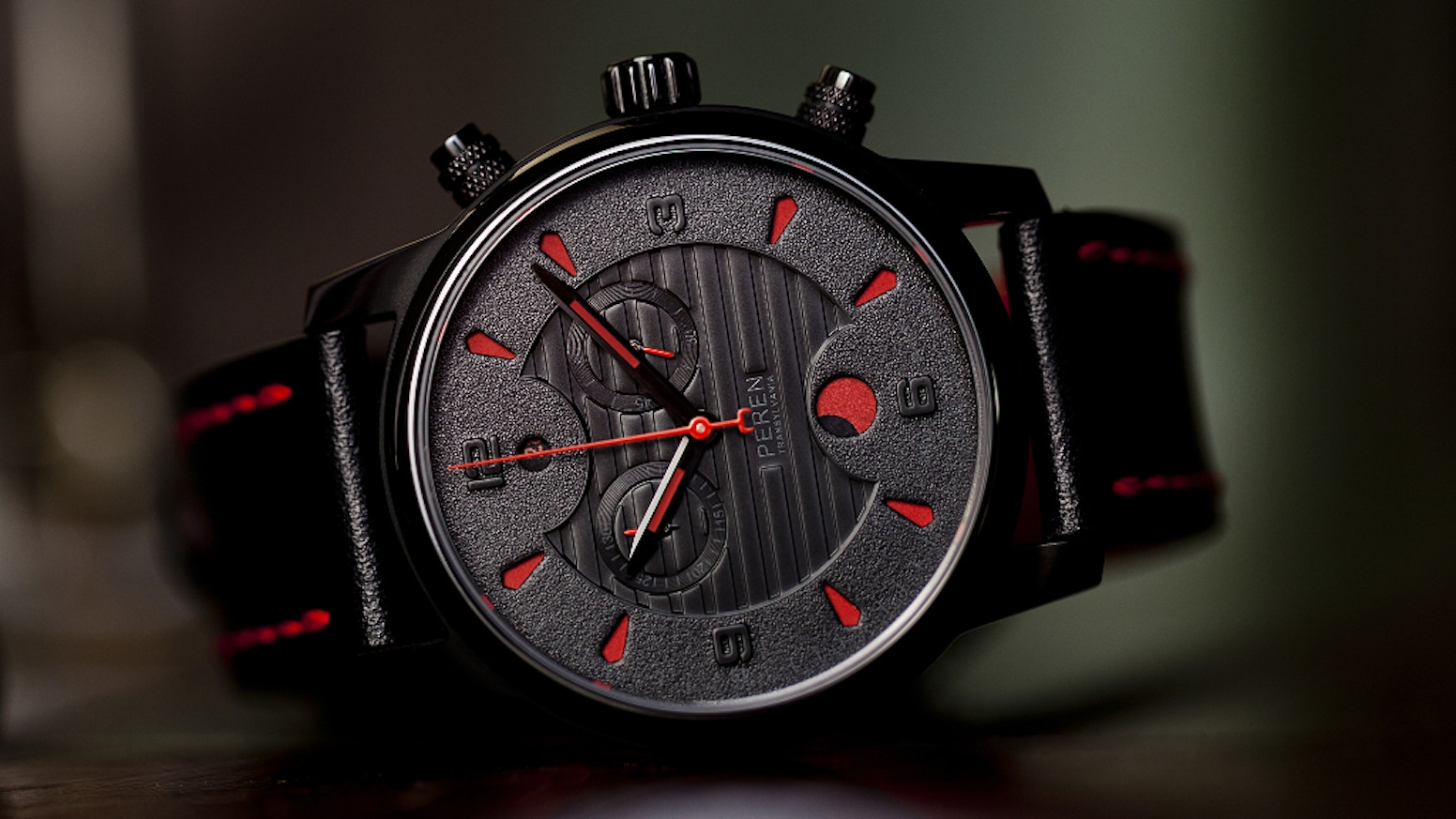 Peren Son of the Dragon - The hand assembled Swiss Made Transylvanian watch directly from the workshop to your wrist