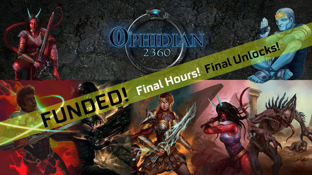 Ophidian 2360: Survival of the Fittest | Strategic Card Game project video thumbnail