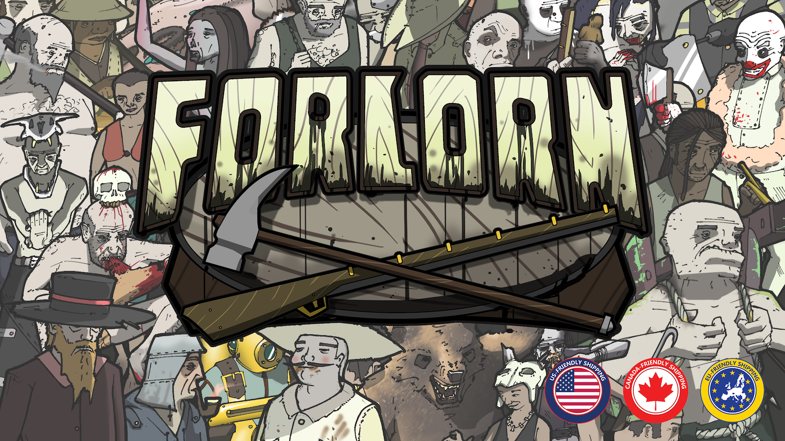 """Forlorn is a """"Survival, Battle Arena"""" that is diverse and tactical yet brutal!"""