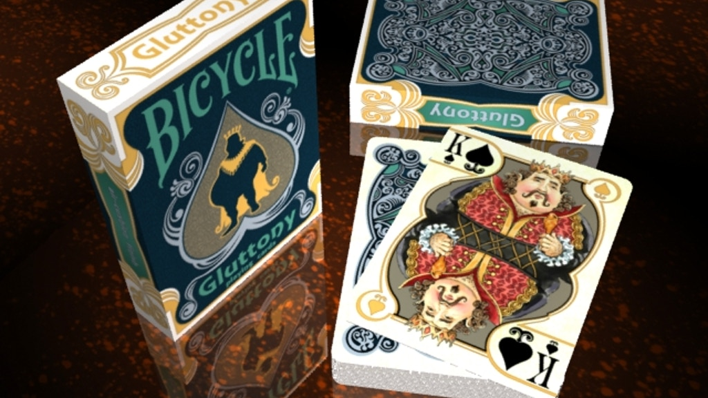 Project image for Bicycle Gluttony Playing Cards