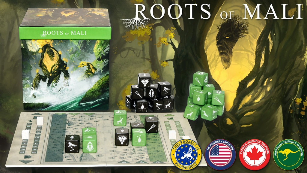 Roots of Mali – Competitive, abstract strategy for 2 players project video thumbnail
