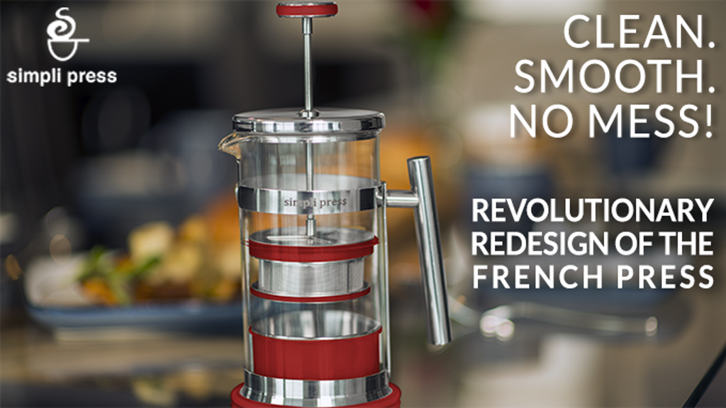 simpli press coffee - Clean. Smooth. No Mess! project video thumbnail
