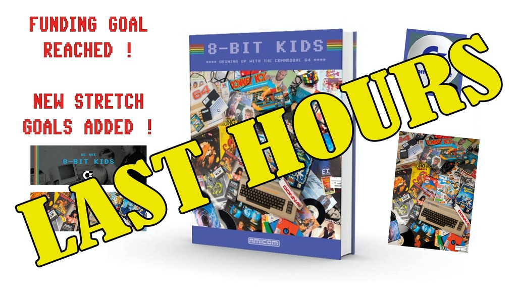 8-BIT KIDS - Growing up with the Commodore 64 hardback book project video thumbnail