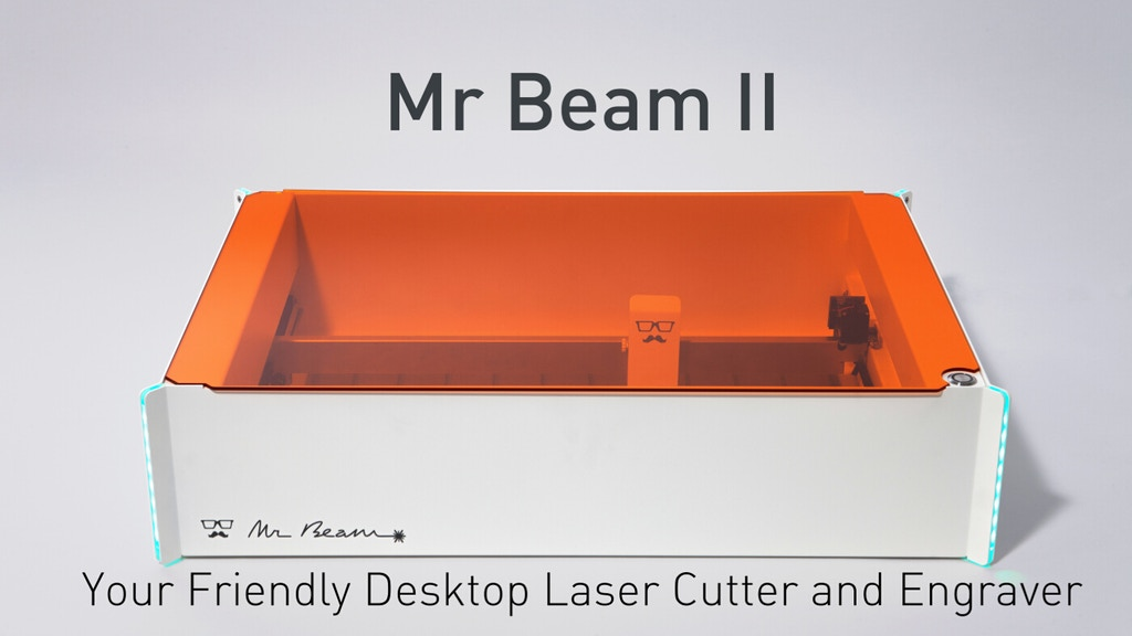 Mr Beam II - The Desktop Laser Cutter and Engraver project video thumbnail
