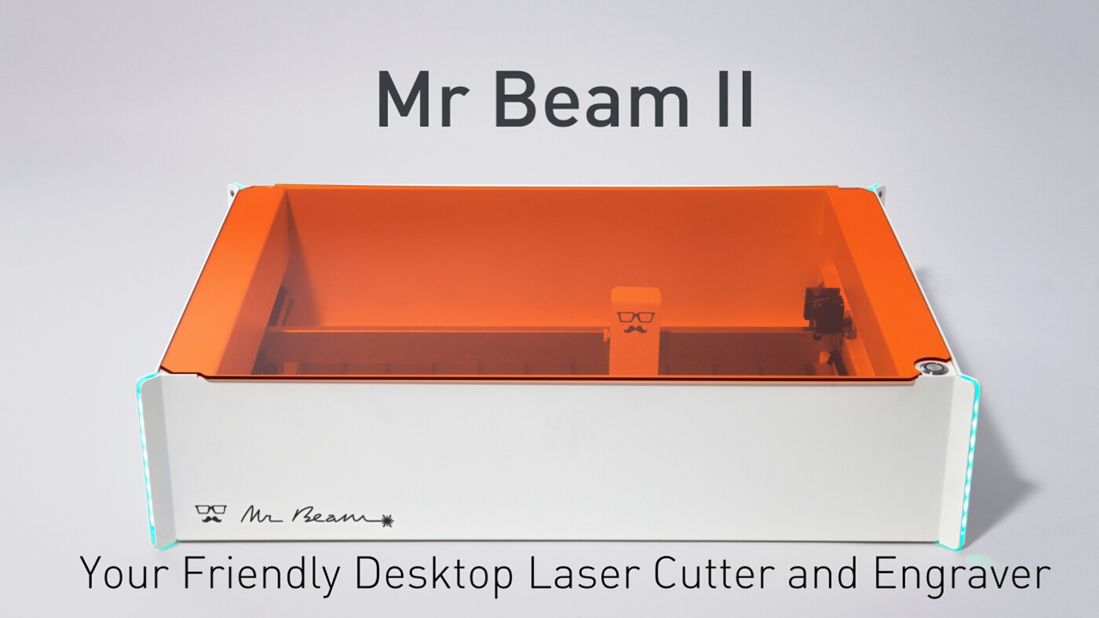 Lasers are a wonderful technology - too wonderful to be used only in heavy industrial machines. Let's bring it to your desktop! Missed this campaign? Follow the link below: