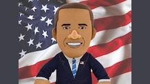 President Obama Bleacher Creature Plush Figure