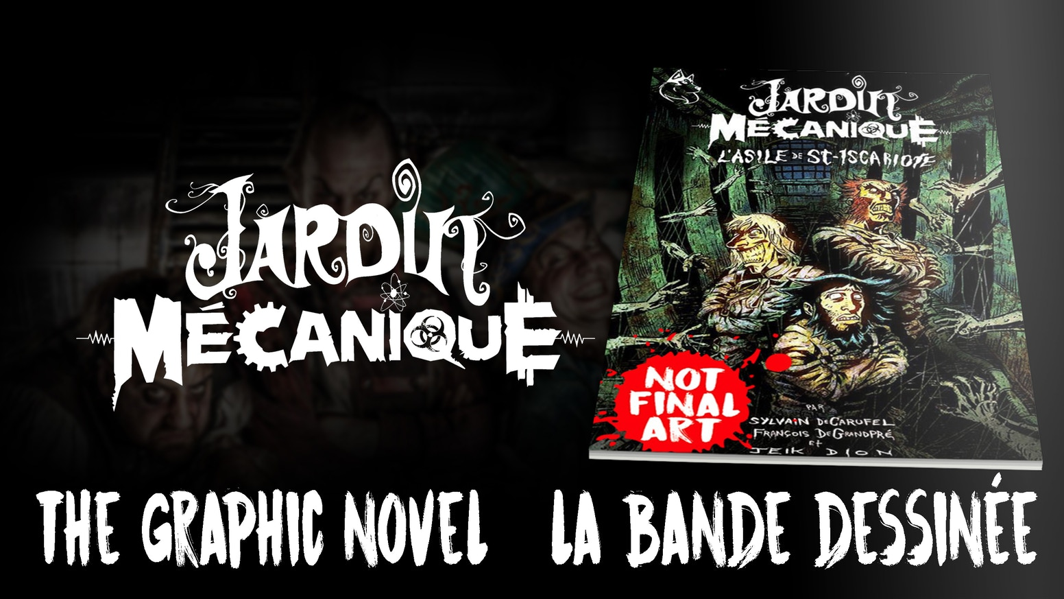 The Jardin Mécanique comic book is a victorian horror steampunk extravaganza illustrated by the incredible Jeik Dion