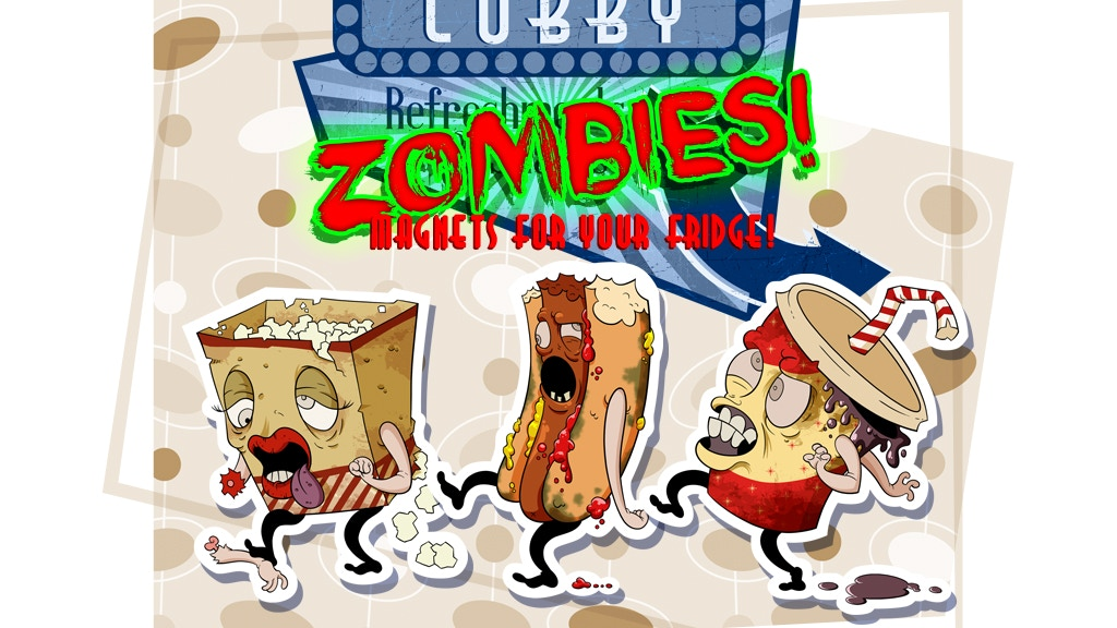 Project image for Lobby Zombies! - Magnets for Your Fridge (Canceled)