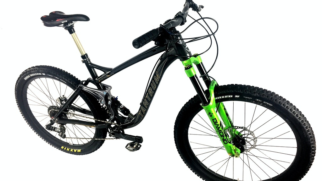 Tantrum Cycles, the Missing Link in full suspension bikes project video thumbnail