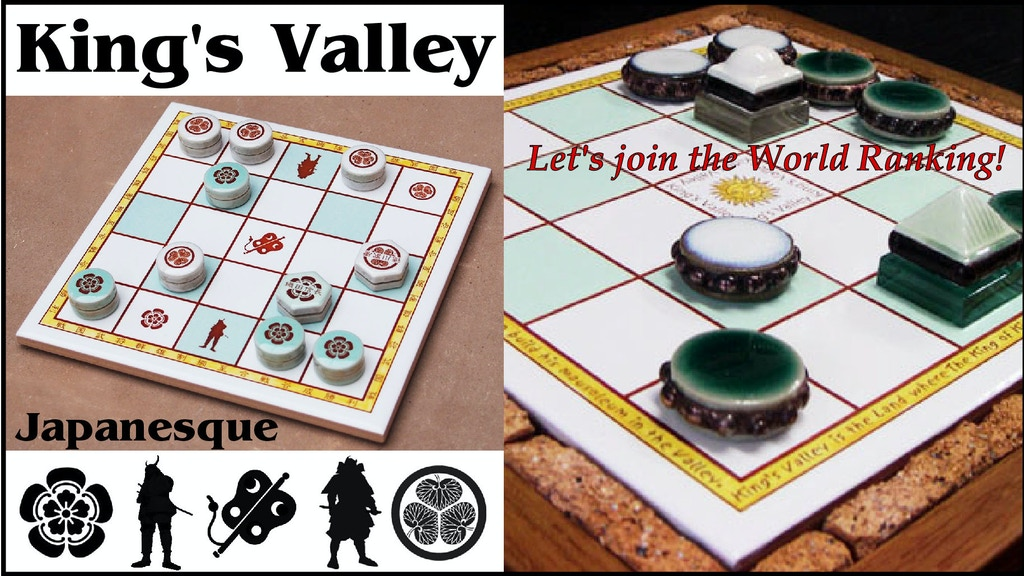 King's Valley board game project video thumbnail