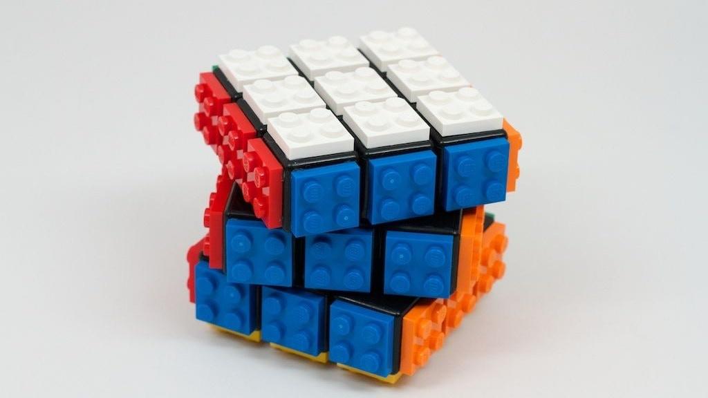 lego my rubik 39 s cube by william banks kickstarter. Black Bedroom Furniture Sets. Home Design Ideas