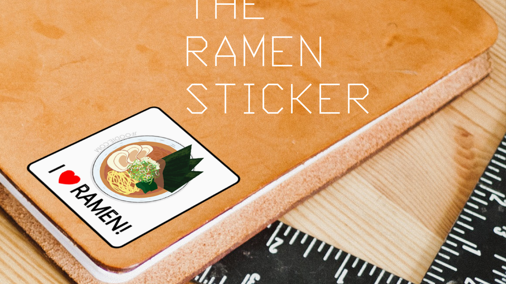 Be yourself! Tell the world how much you love ramen! The Ramen Stickers will make it easy to detect ramen lovers around you too.