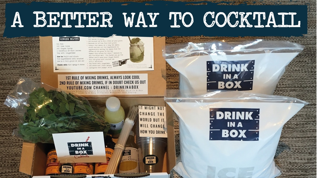 DRINK IN A BOX. Helping People Drink Better At Home. project video thumbnail