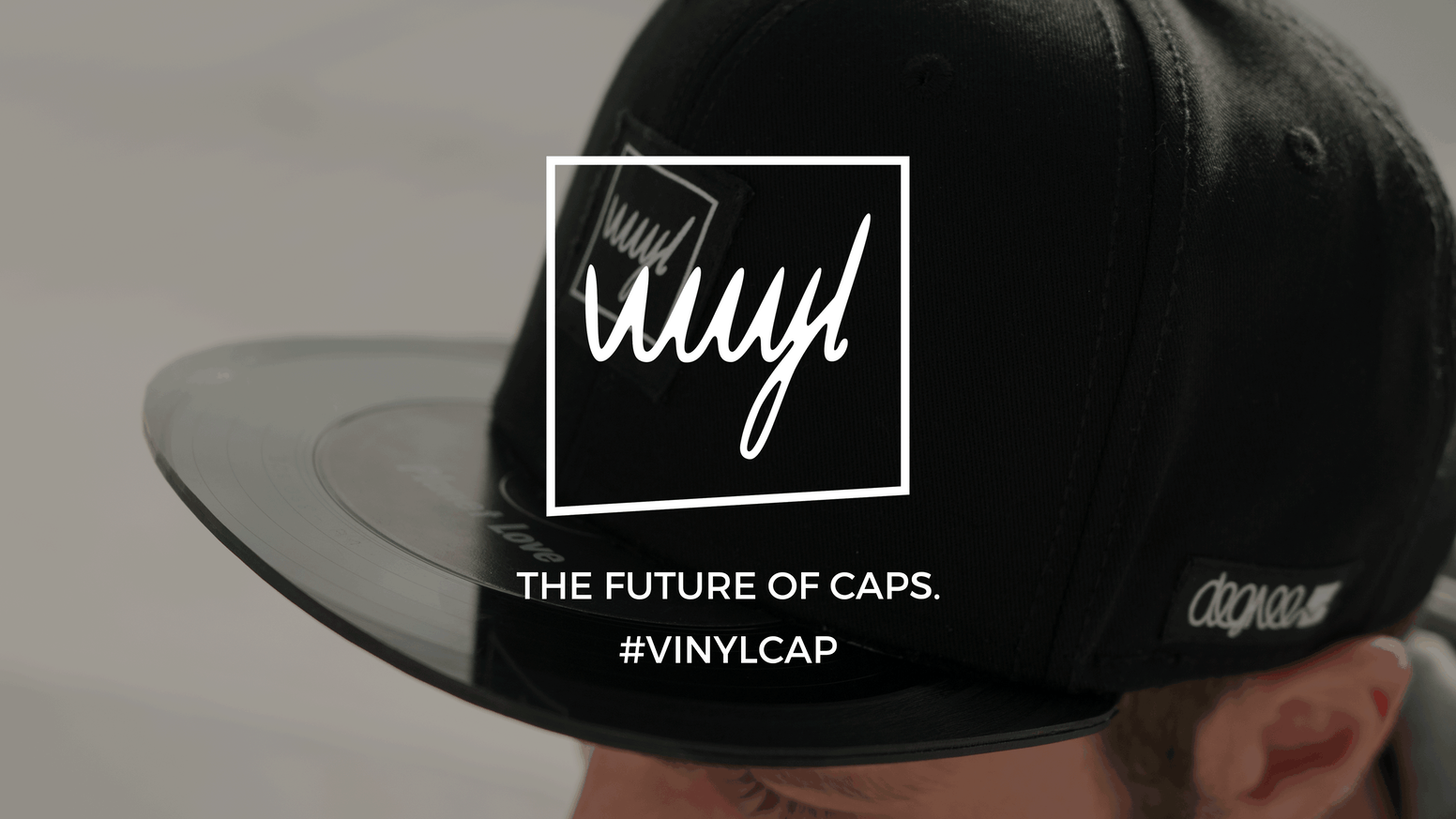 You love the sound of vinyl? Now you have the chance to wear them. The world´s first patented #vinylcap is the future of caps!