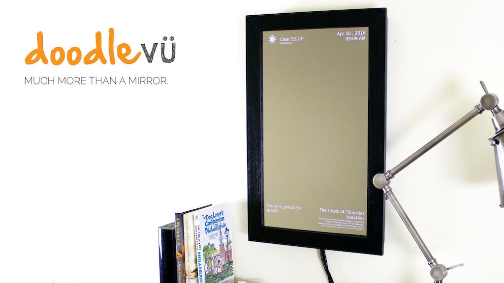 DoodleVU - The Smart Mirror project video thumbnail