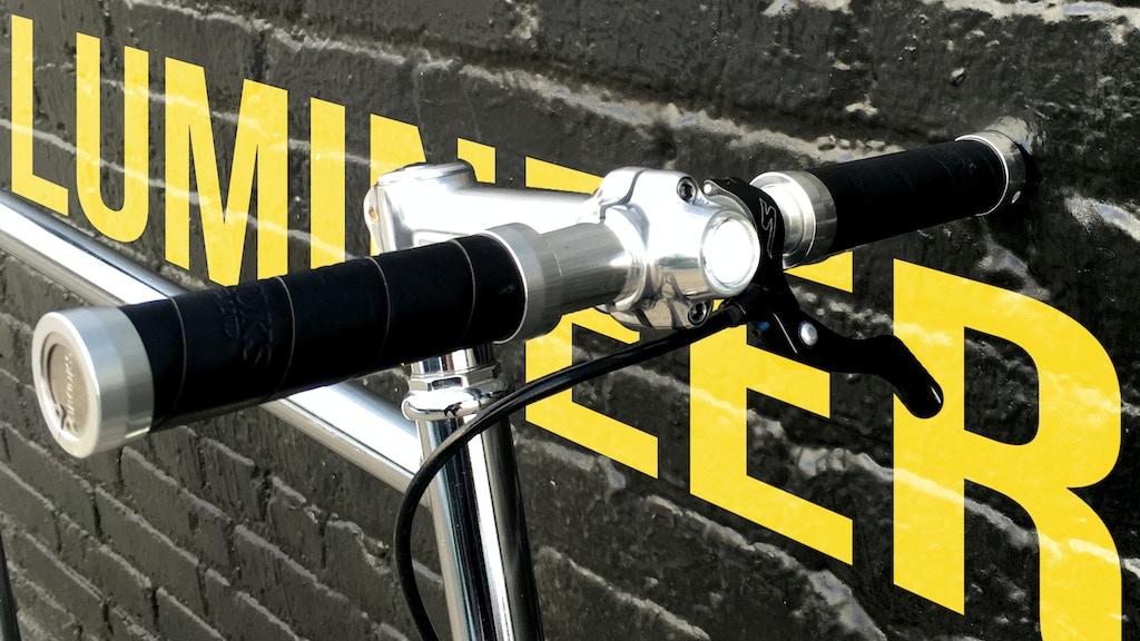 "Lumineer - the ""world's most discreet"" bike light! project video thumbnail"