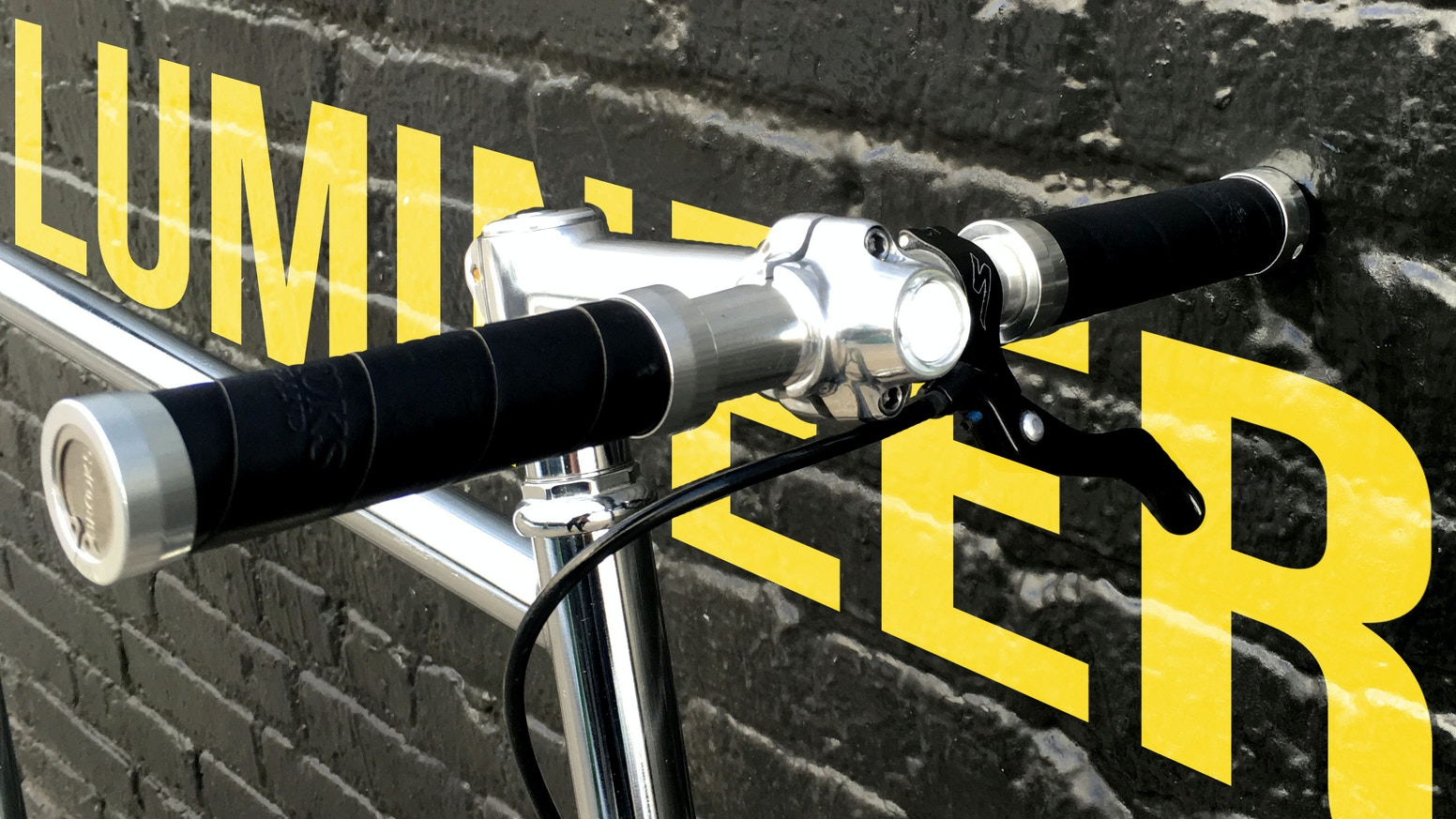 Lumineer is the bike light no one one will notice, until it matters. It seamlessly blends into your bike's sleek, sturdy frame.