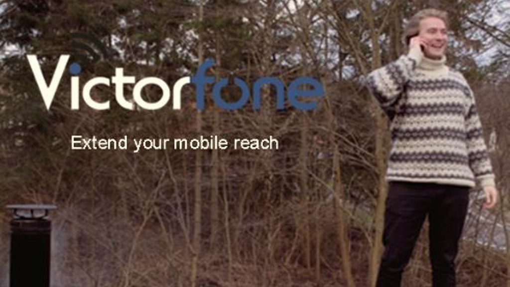 Victorfone   Let's put an end to poor mobile coverage project video thumbnail