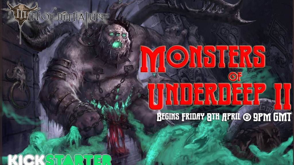 Minion Miniatures - The Monsters of Underdeep 2 project video thumbnail