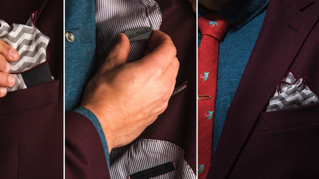 Pocket Square Snap-The only invention a man needs. project video thumbnail