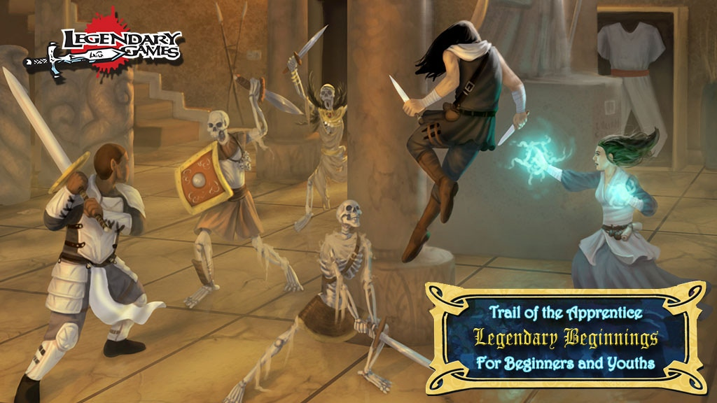 Trail of the Apprentice, a Pathfinder & 5E saga for all ages project video thumbnail