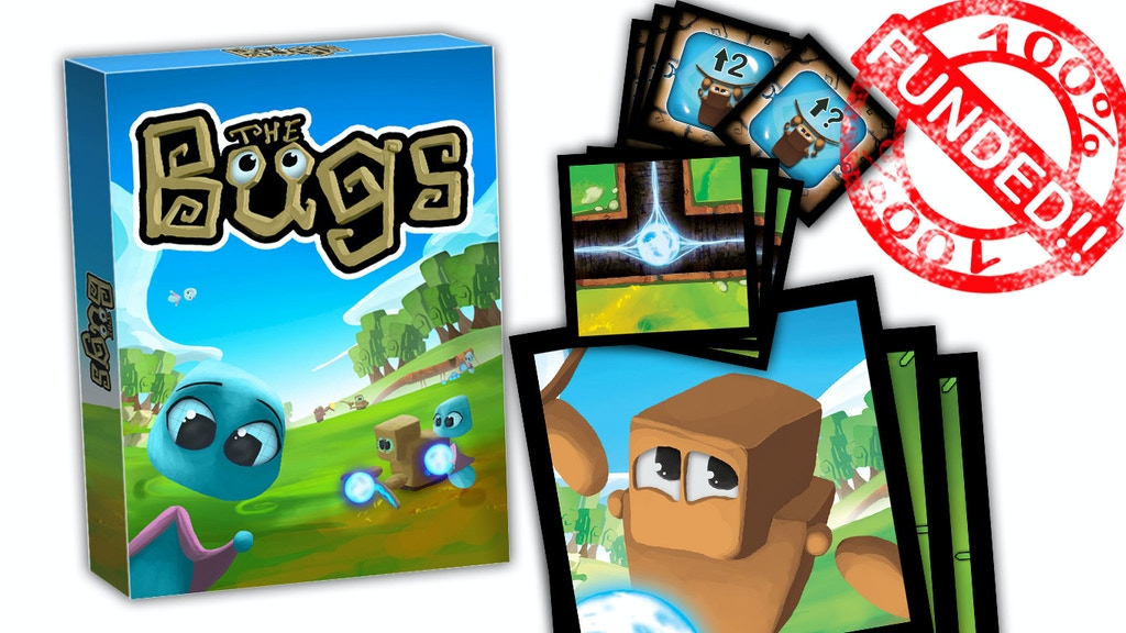 The Bugs. The cooperative card game to learn programming project video thumbnail