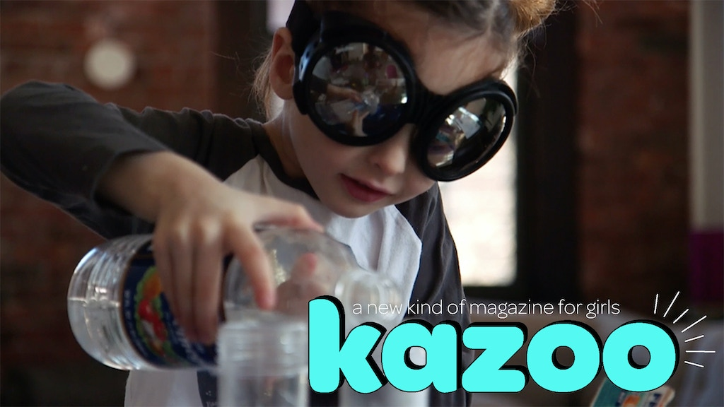Kazoo magazine project video thumbnail