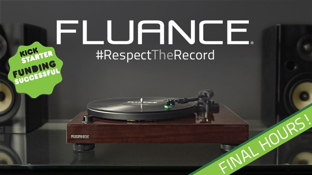 Fluance Turntable - It's Time to #RespectTheRecord project video thumbnail