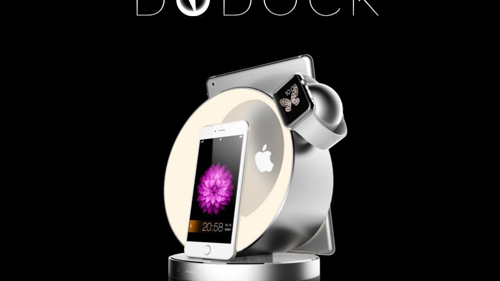 Dock for your Apple device, Pebble Watch and USB-C device. project video thumbnail