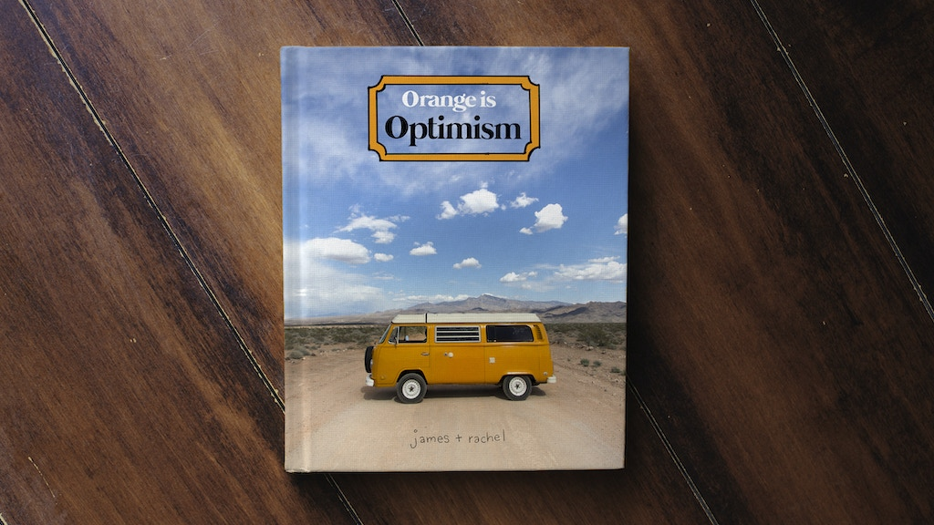 Orange is Optimism - A Book by Idle Theory Bus project video thumbnail
