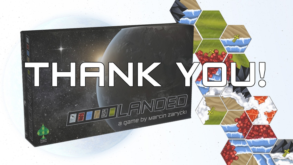Landed - A Terraforming Board Game project video thumbnail