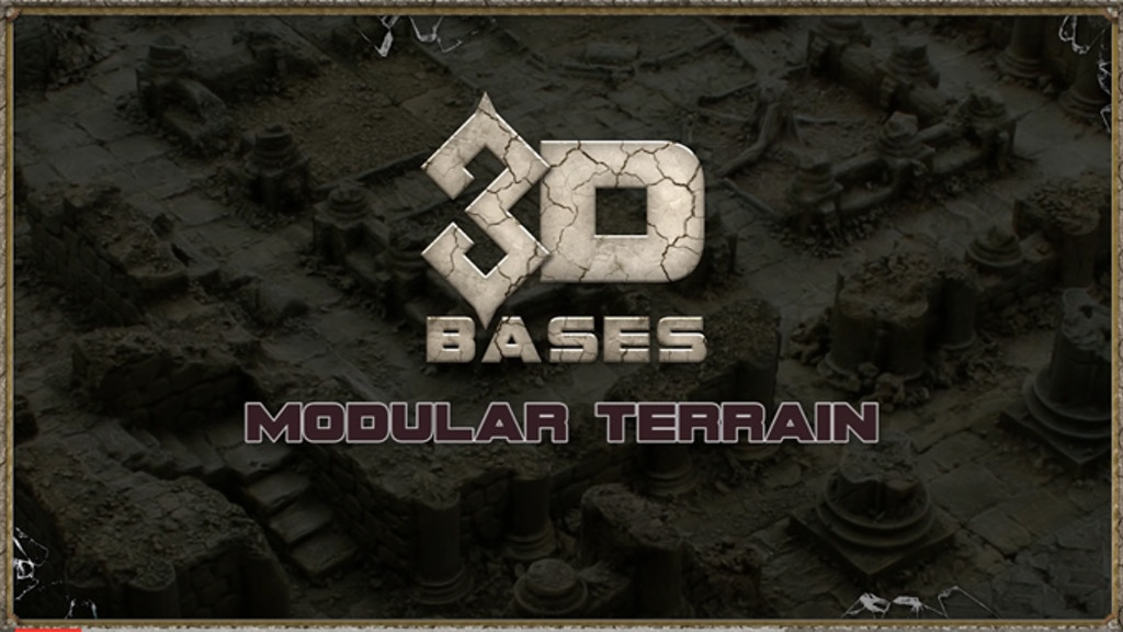 3D Bases - Modular Terrain project video thumbnail