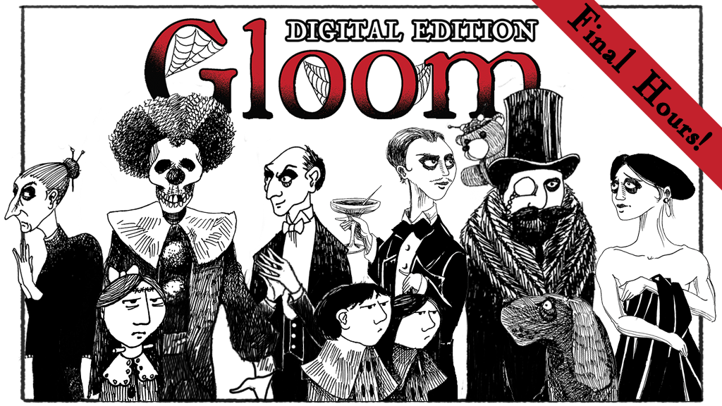 Gloom: Digital - A delightfully miserable PC card game project video thumbnail