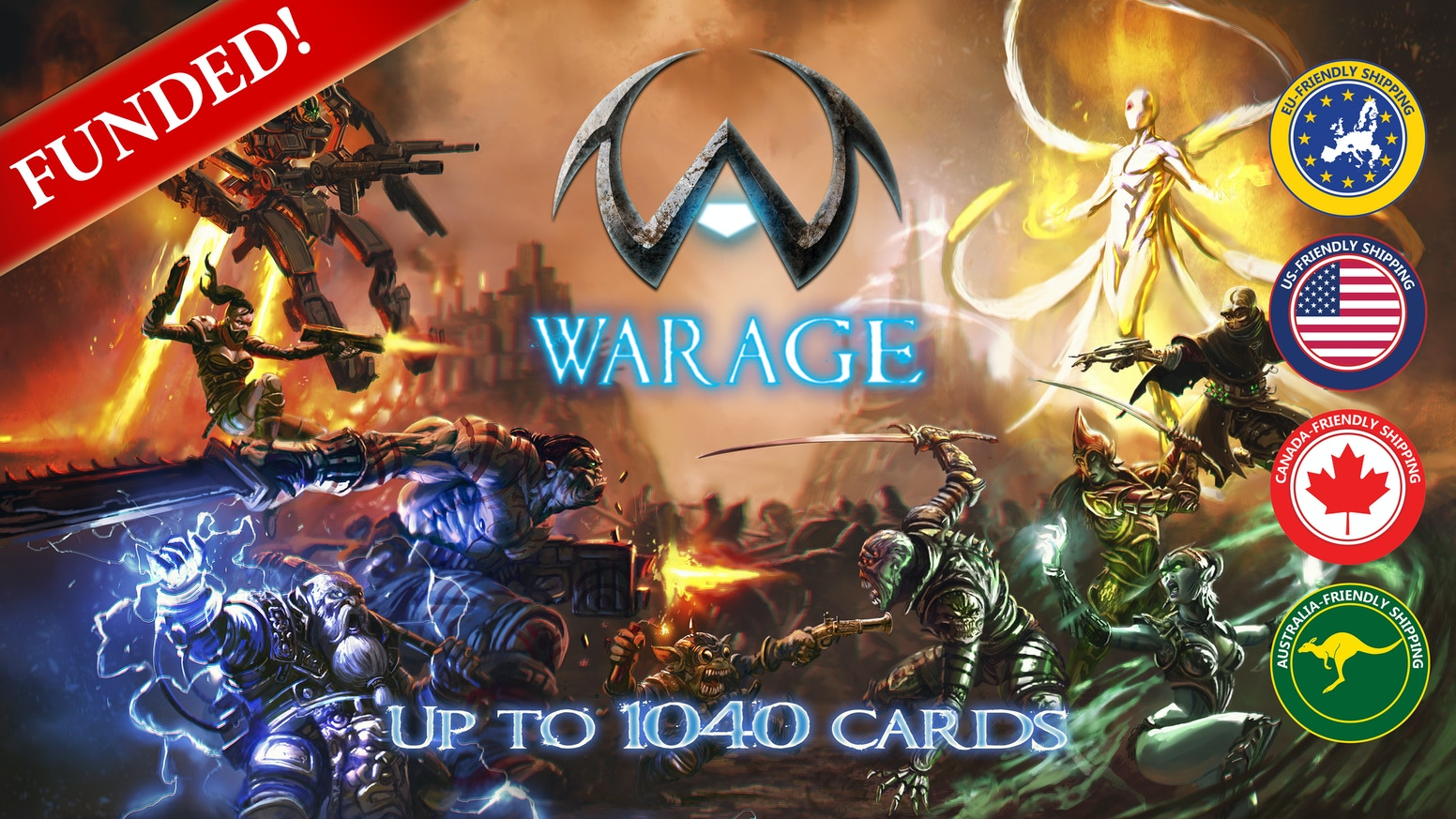 Warage Card Game Extended Edition By District Games Kickstarter