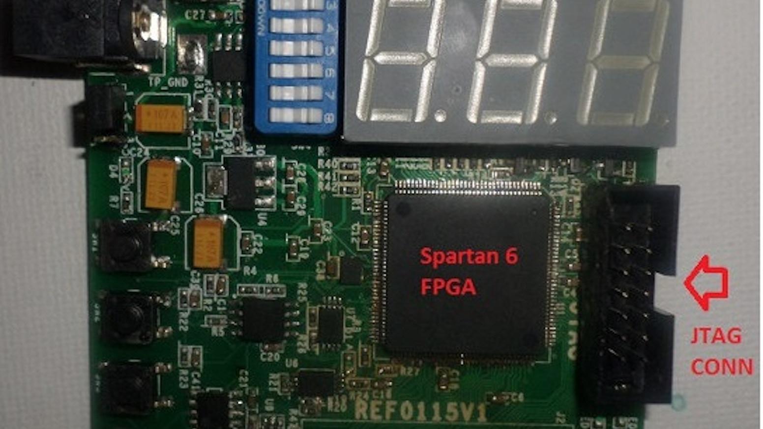 Spartixed - FPGA Board for Verilog / VHDL learners by Vikas Shukla