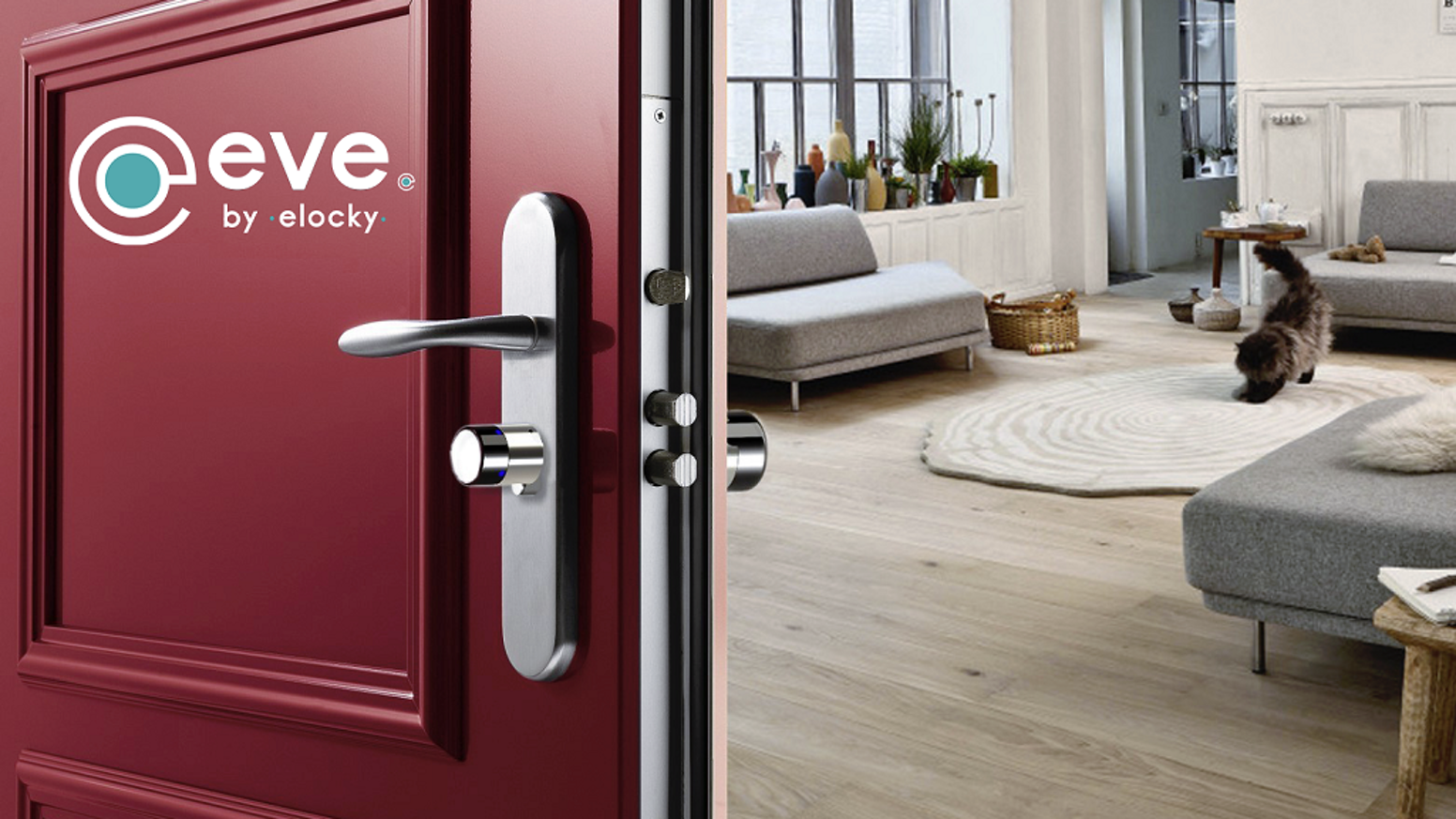 Adoptez eVe, partagez vos clés et surveillez votre maison | Adopt eVe, easily share your keys and watch over your house !