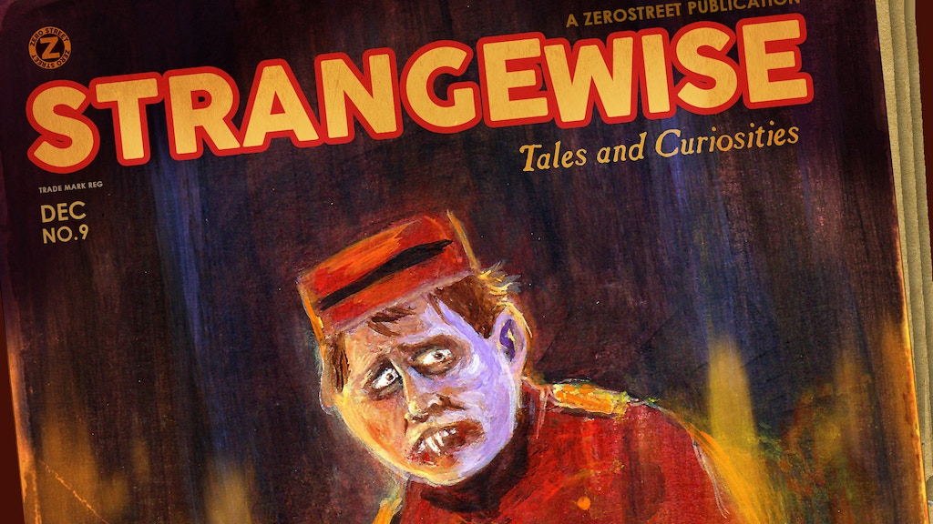 Strangewise No. 9 - Pulp Stories and Art project video thumbnail