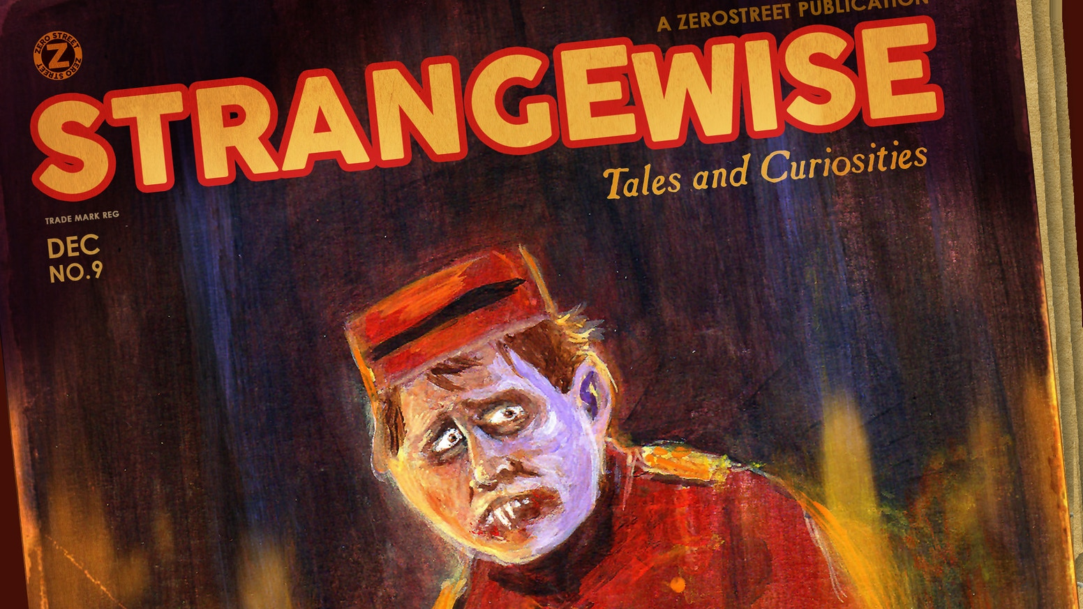 Strangewise No.9 is available at Amazon!
