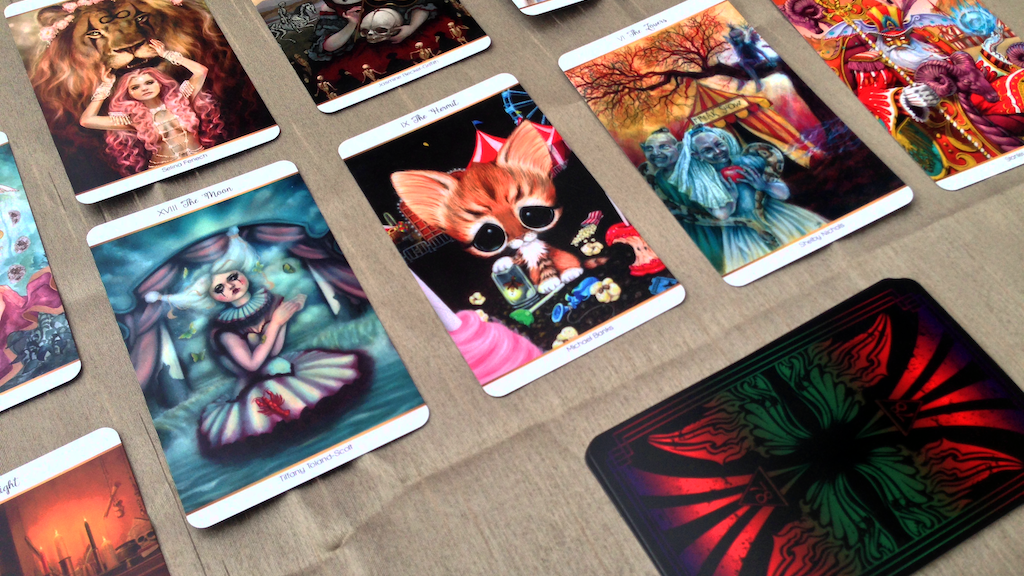 78 Tarot Carnival project video thumbnail