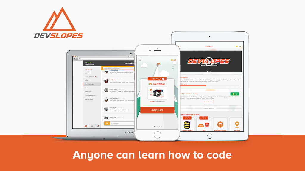 Devslopes - ANYONE Can Learn to Code project video thumbnail