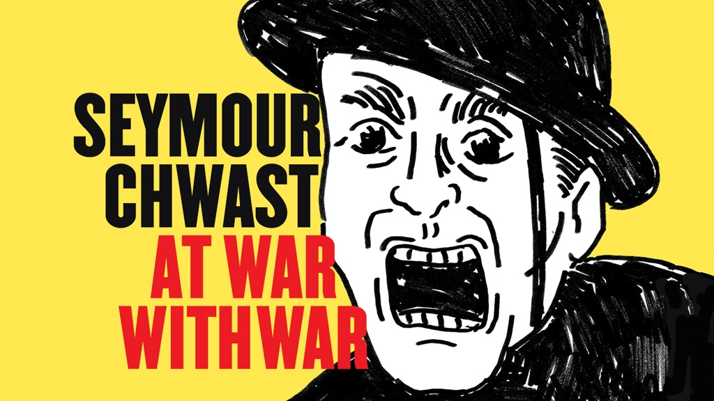 New Seymour Chwast Book Protests 5,000 Years of War project video thumbnail