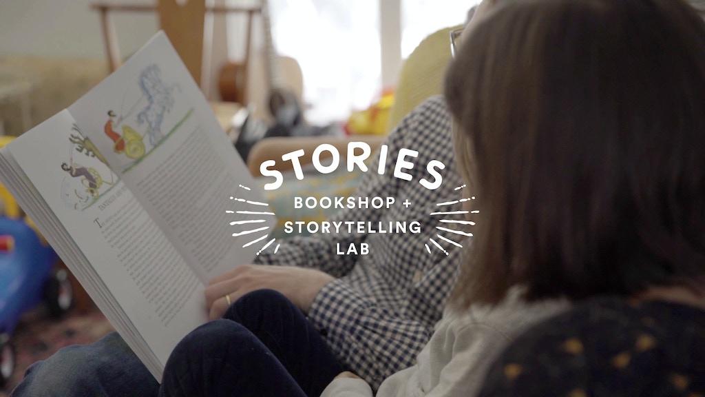 Stories: A Children's Bookshop + Storytelling Lab project video thumbnail