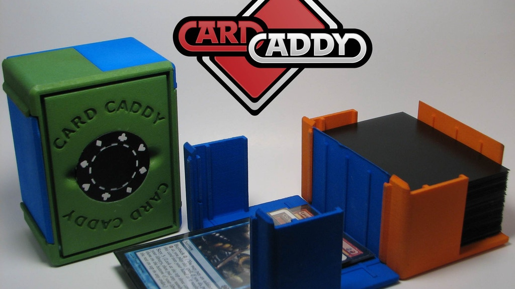 Card Caddy Double Decker project video thumbnail