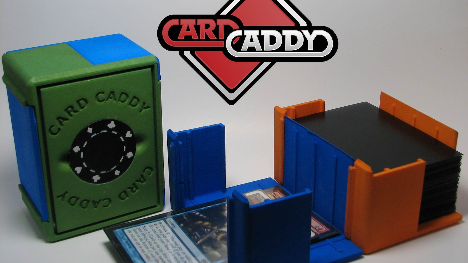 The Card Caddy is the only playing card case that converts to a discard tray - now in a Double Decker version for bigger decks!