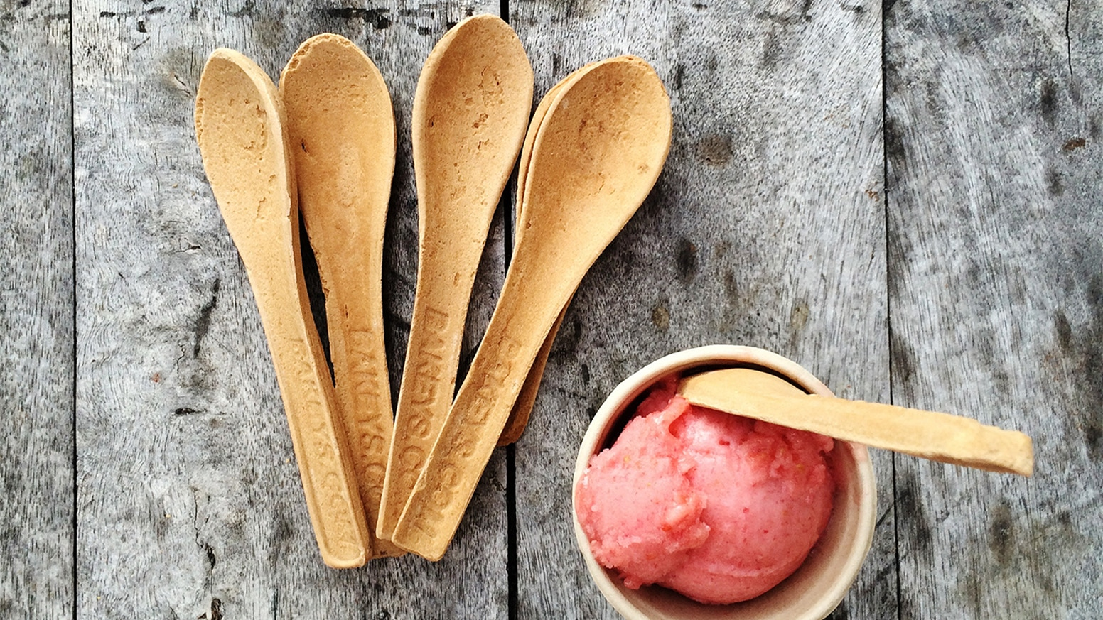 We are gearing up to create the world's first mass produced edible cutlery. This has huge potential to prevent plastic waste.