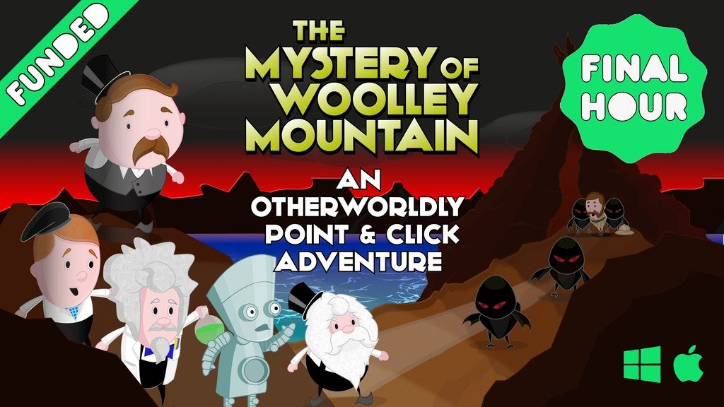 Mystery Of Woolley Mountain - A New Point & Click Adventure project video thumbnail