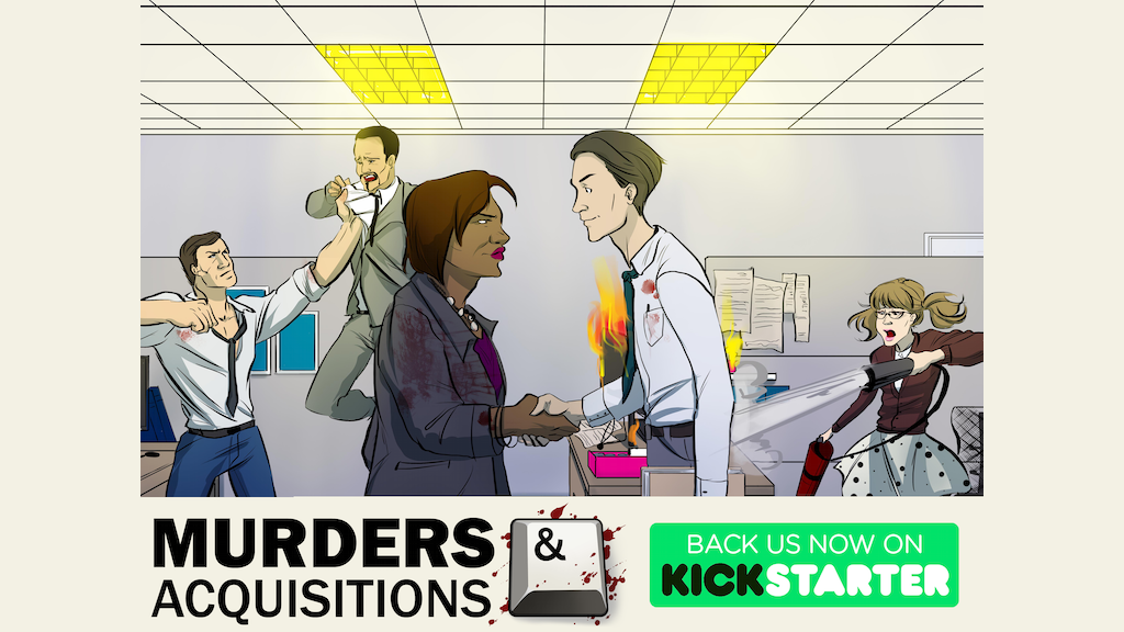 Murders & Acquisitions RPG project video thumbnail