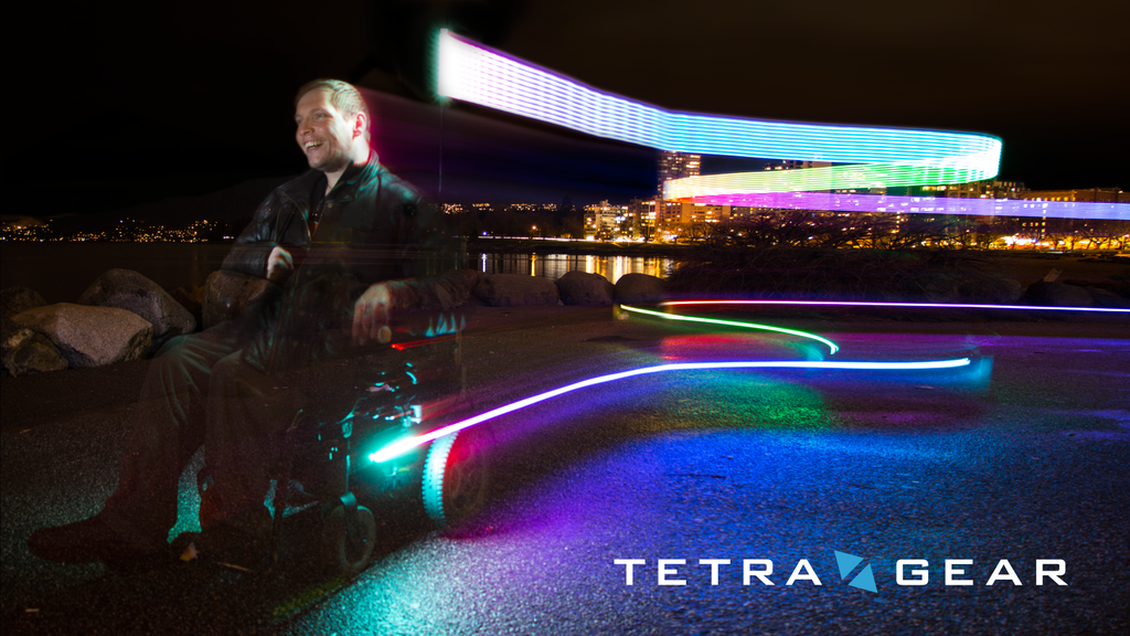 TetraGear - Innovative Safety Lights for Wheeled Commuters project video thumbnail